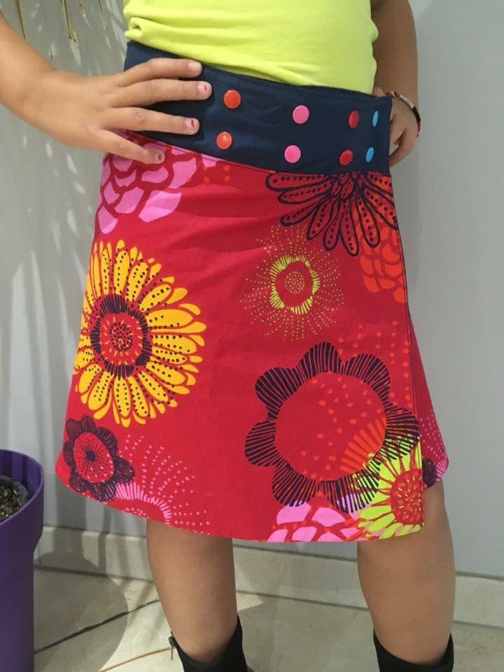 479c2126505d71 Jupe Réversible Multi Tailles - Tuto Couture Vidéo ⋆ Les Tutos ...