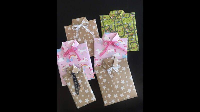 DIY - Jolis Paquets Cadeaux Originaux