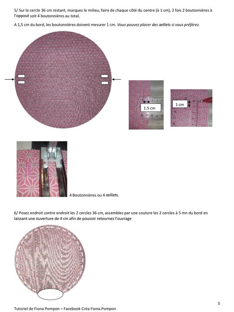 Bourse à Bijoux - Tutoriel Couture