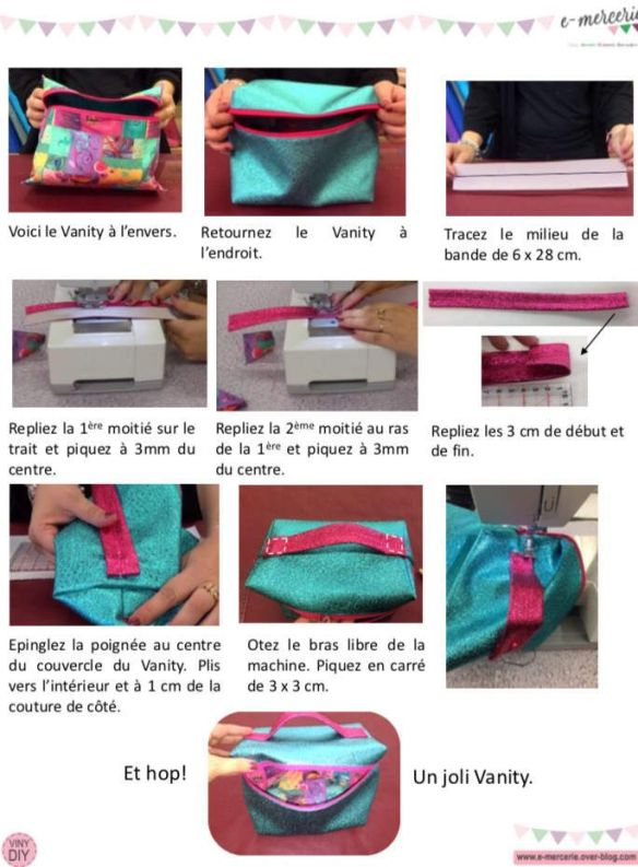 Vanity Facile - Tuto Couture