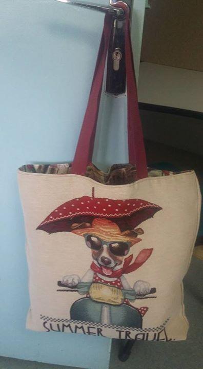 tuto tote bag dog