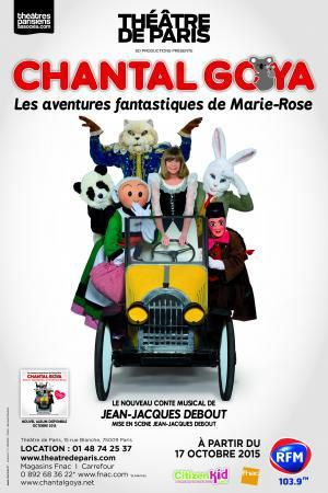 Chantal Goya - Les aventures fantastiques de Marie Rose au Théâtre de Paris
