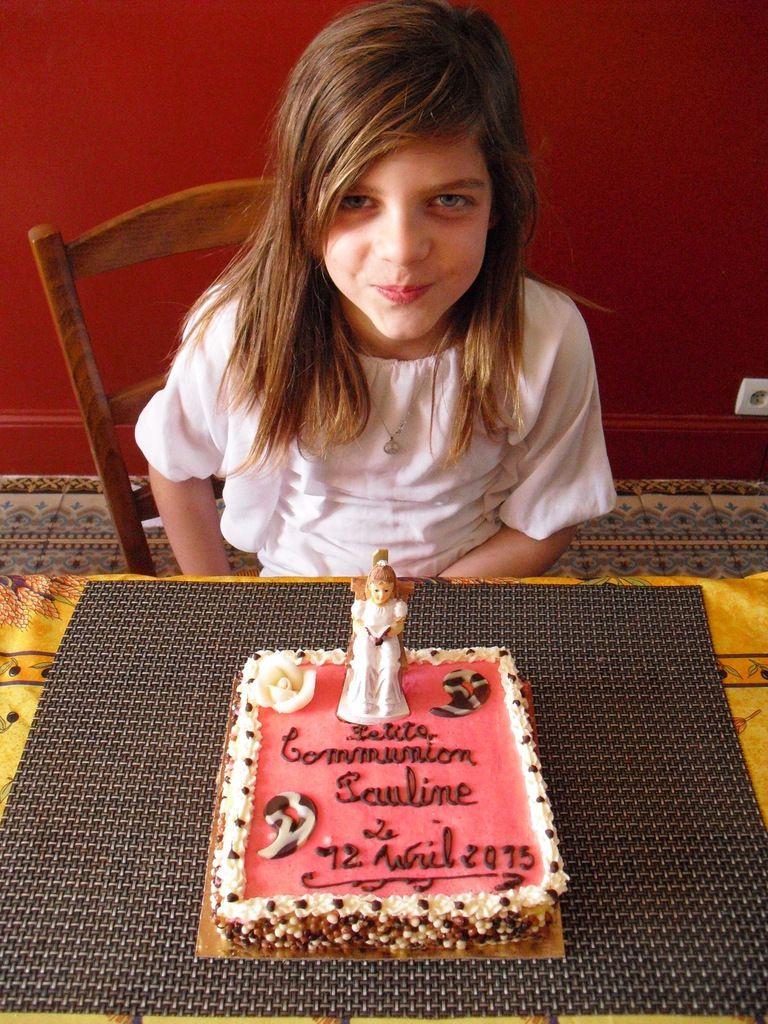 gâteau fraises/mascarpone/chantilly