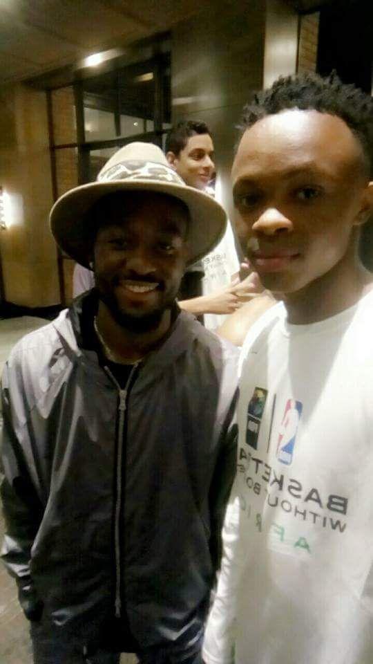 Avec Kemba Walker