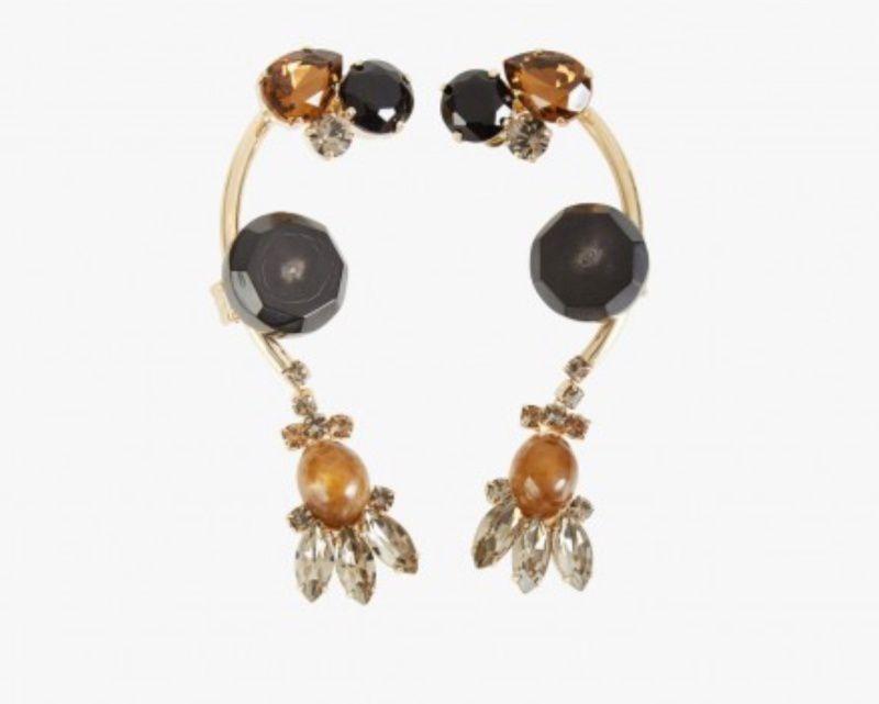 Boucles d'oreilles, Marni, 450 euros.