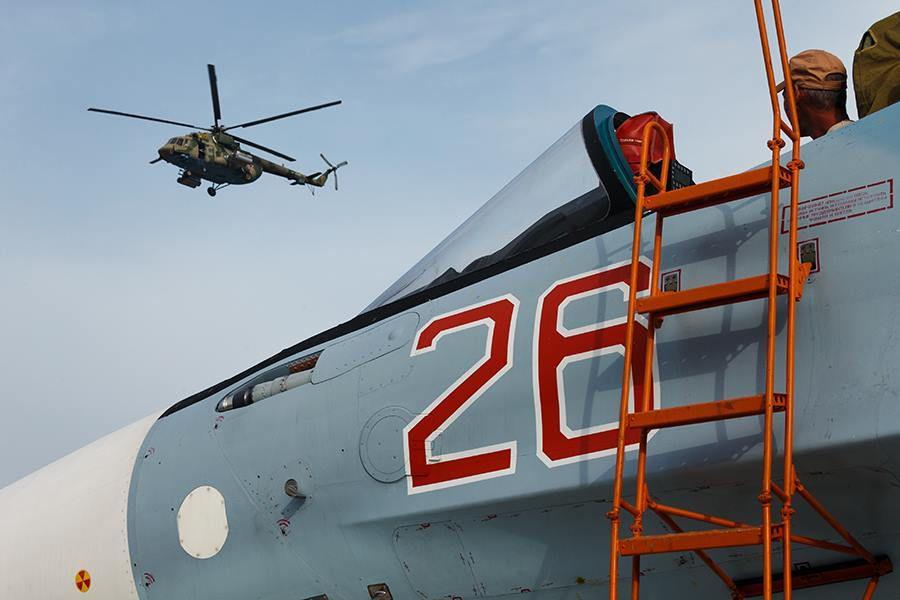 Appareil russe sur la base aérienne de Lattaquié, en Syrie. Ministère de la défense