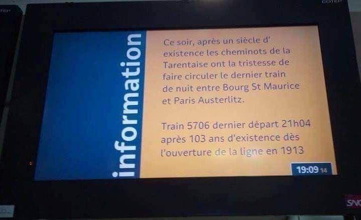 SUPPRESSION des TRAINS de NUIT : un nouveau coup porté au service public ferroviaire