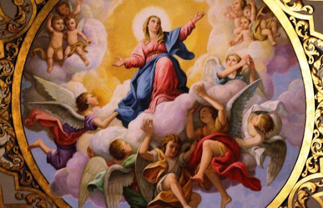 Jacarei 19 Août 2018 - Fête de la Solennité de l'Assomption de Marie Très Sainte au Ciel - Message de Notre Dame de l'Assomption communiqué au Voyant Marcos Tadeu