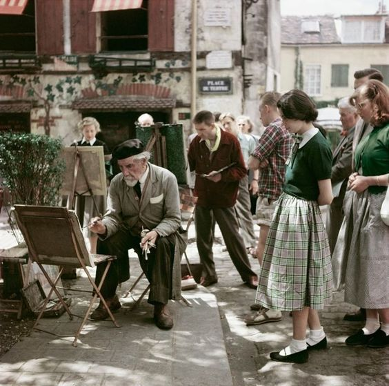 """Résultat de recherche d'images pour """"images de Montmartre années 50"""""""