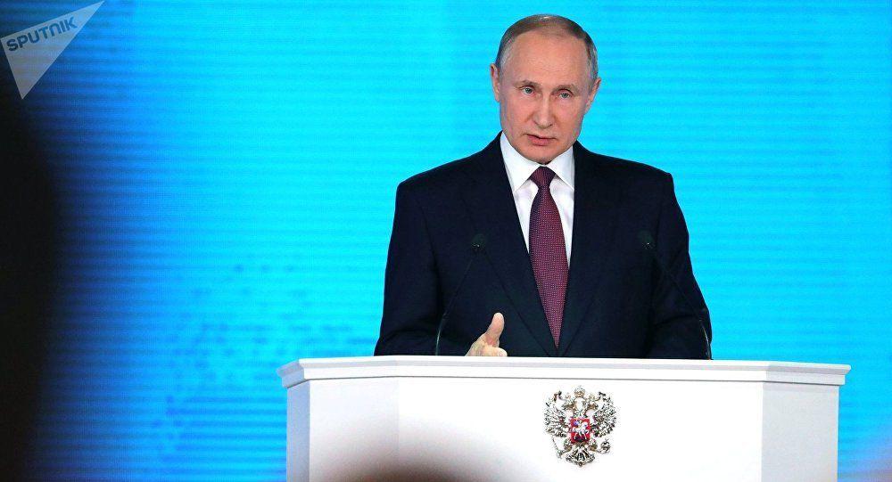 Déclaration de Vladimir Poutine suite aux frappes occidentales en Syrie