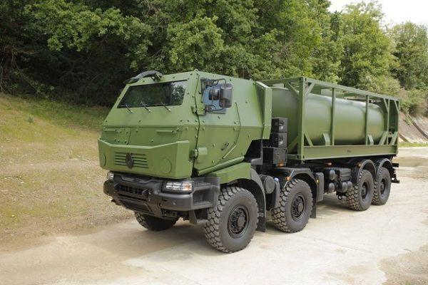 Véhicules et matériels : Renault Kerax citerne Titan haute ...