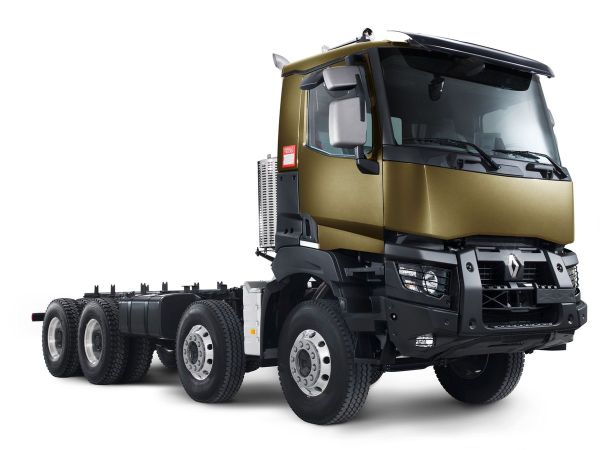 Véhicule et matériel : le Renault Kerax