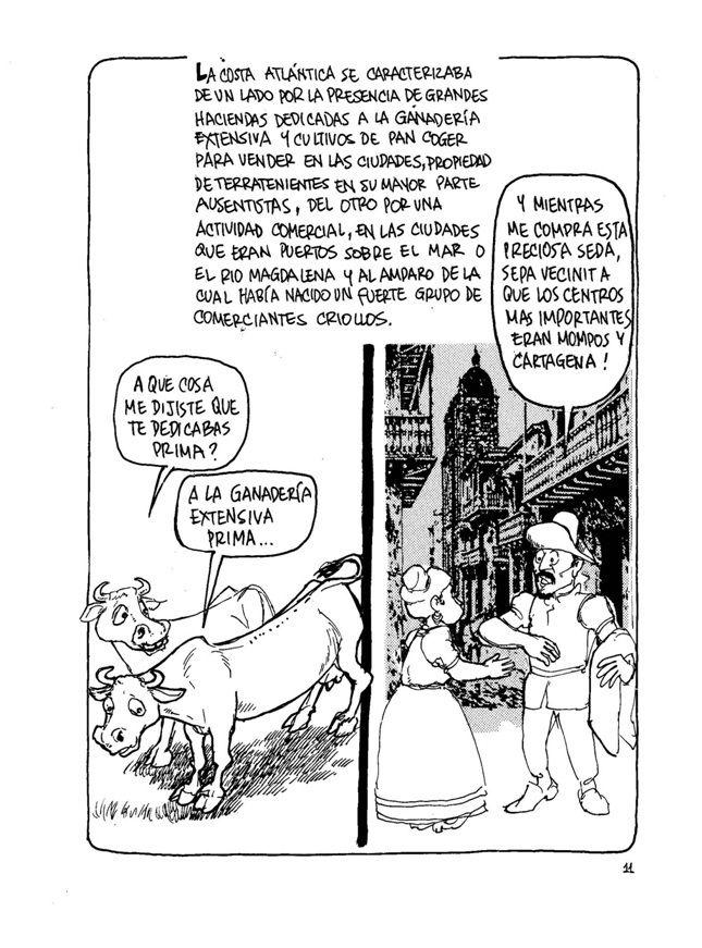 La Historia de Colombia (5) Sin permiso