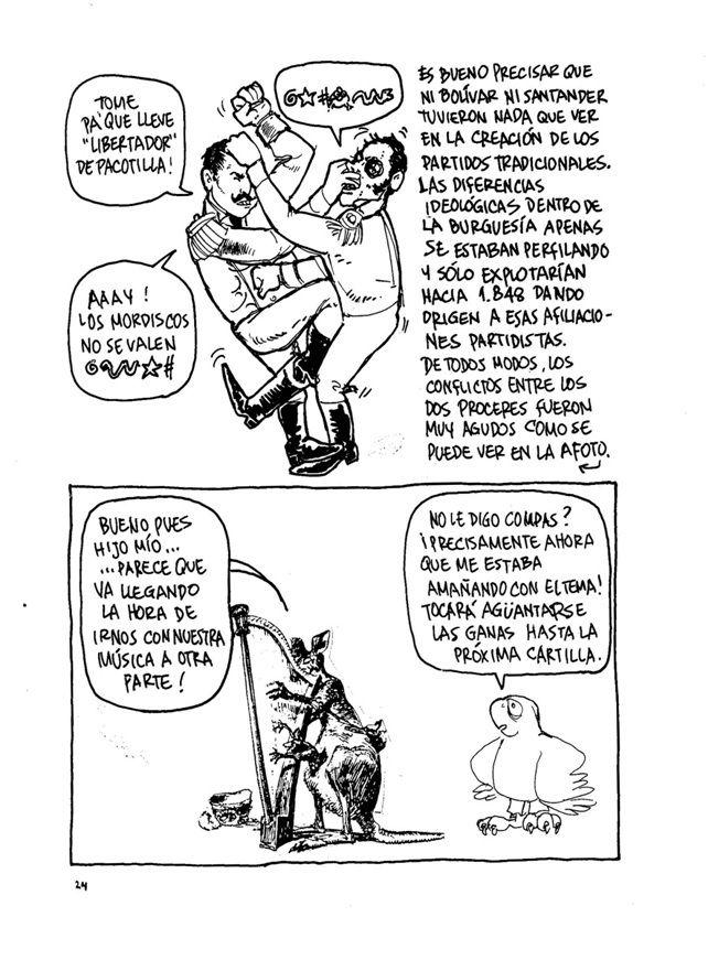 La Historia de Colombia (7) Sin permiso