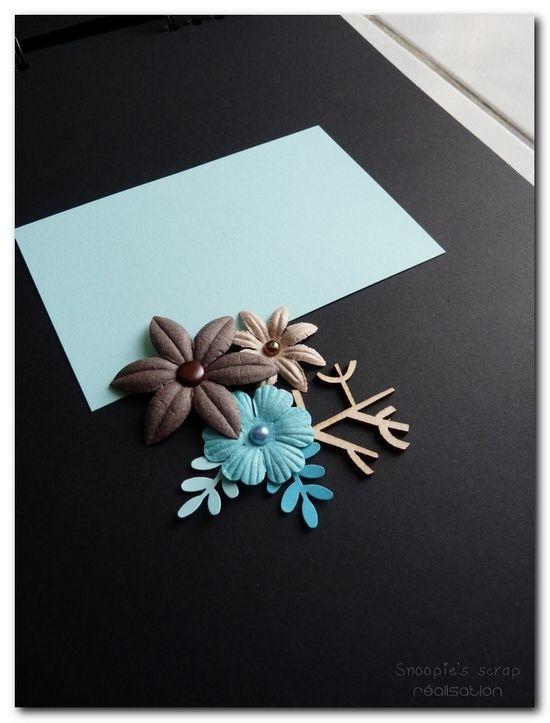 Livre d'or Nora & David - chocolat turquoise - exotique
