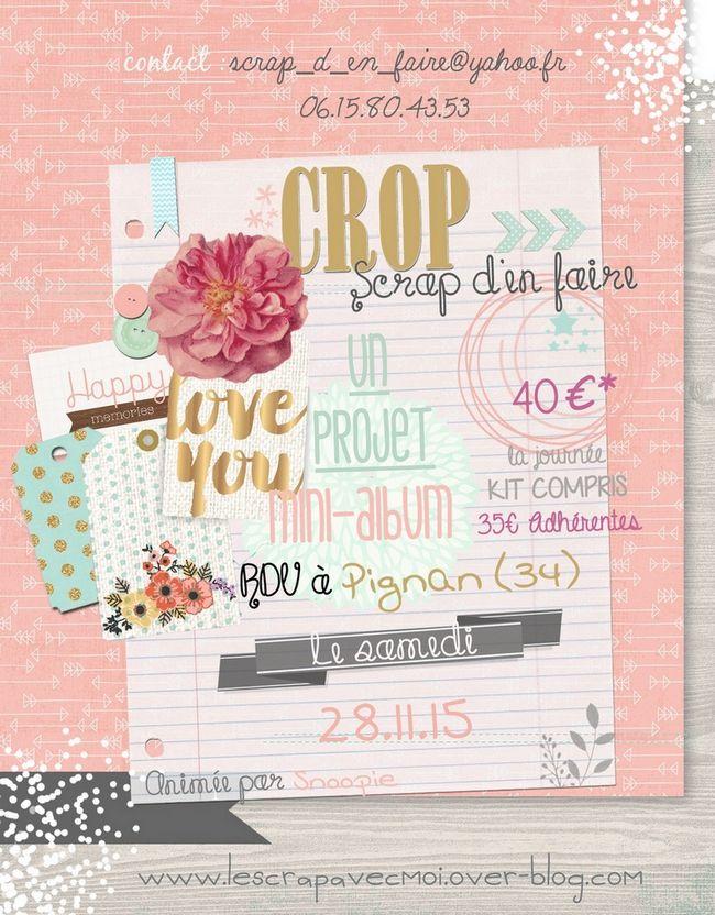 CROP - Scrap d'en faire - 28 novembre 2015