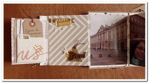 mini-album Toulouse - kit à vendre