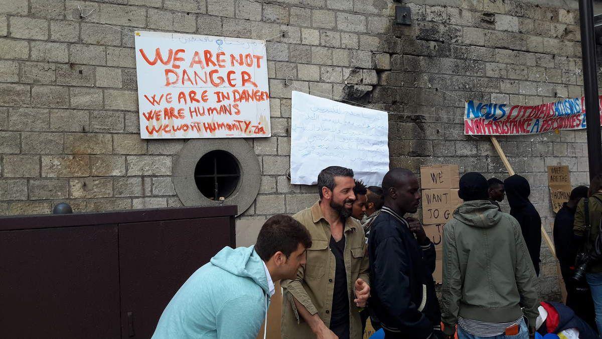 Dignité, Droits de l'Homme... et réfugiés à Paris ?