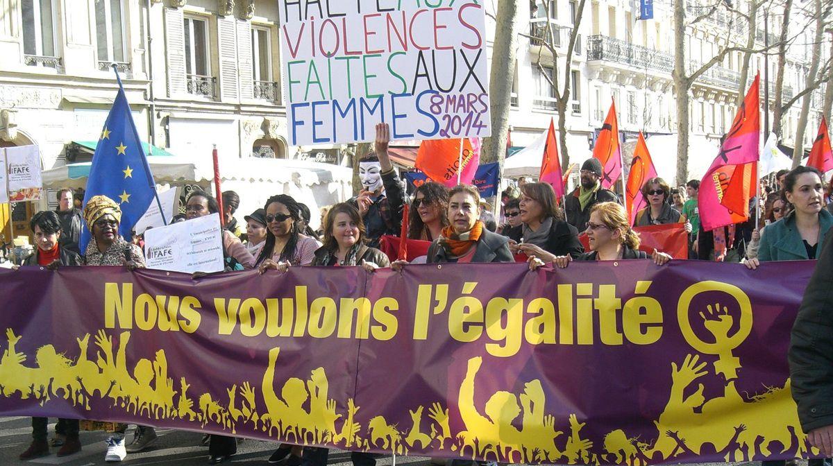 La longue lutte des Femmes pour l'égalité (2)