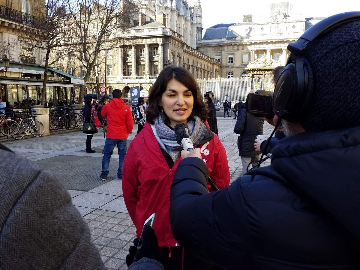 Aurélie Trouvé, porte-parole d'ATTAC