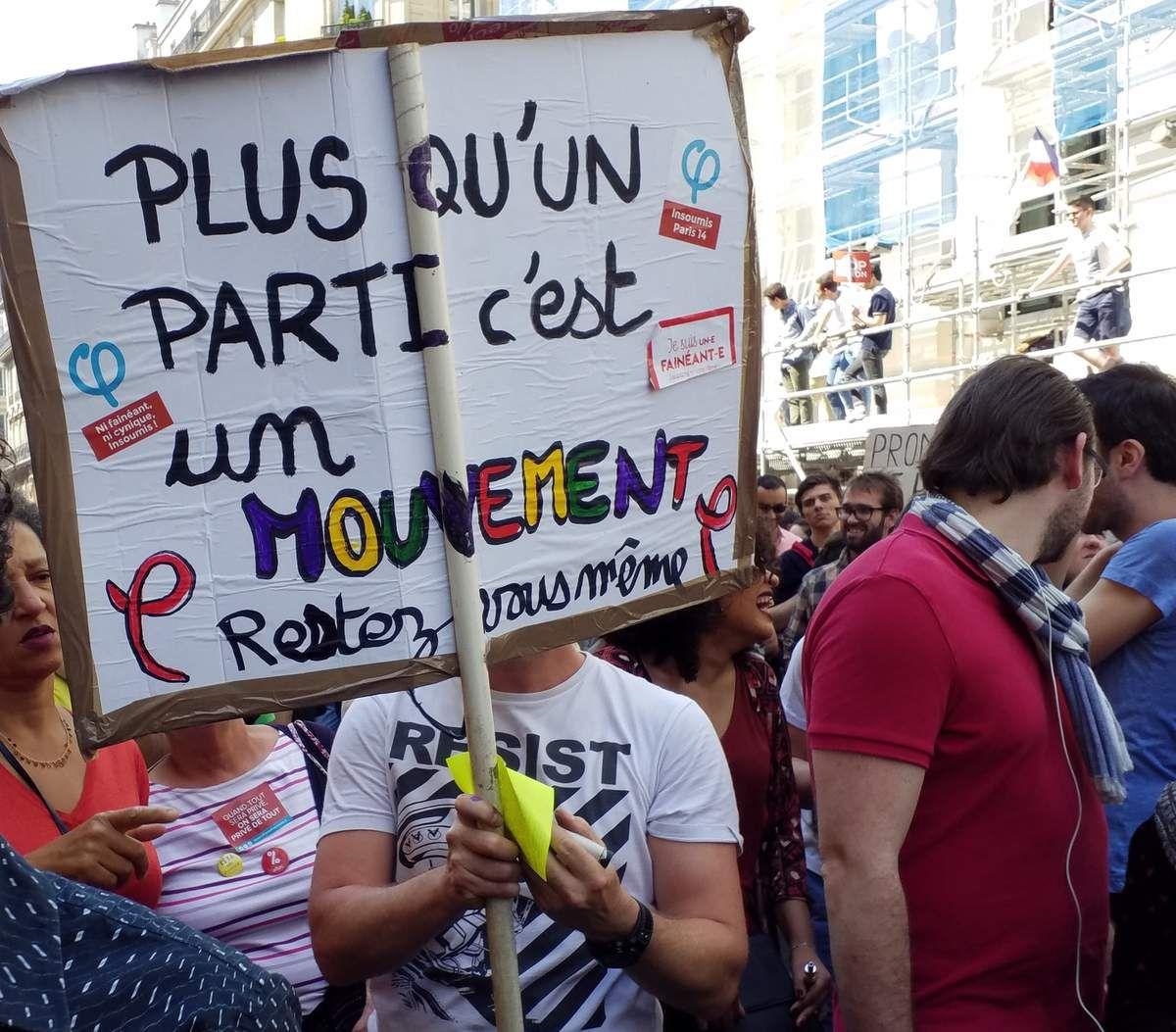 La fête à Macron