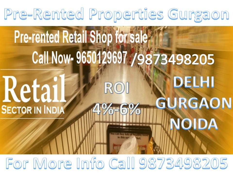pre-leased property in delhi, pre rented property in delhi