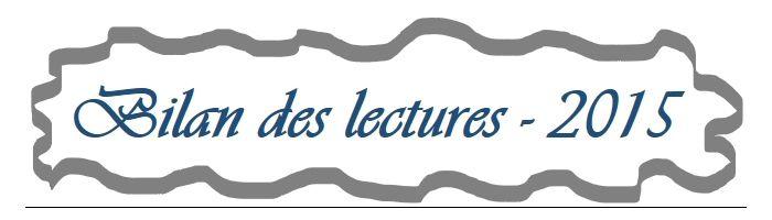 Classement des lectures 2015