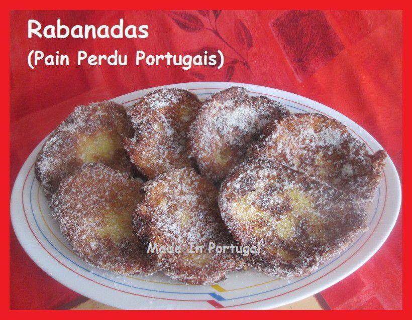Rabanadas ou Pain Perdu à la Portugaise