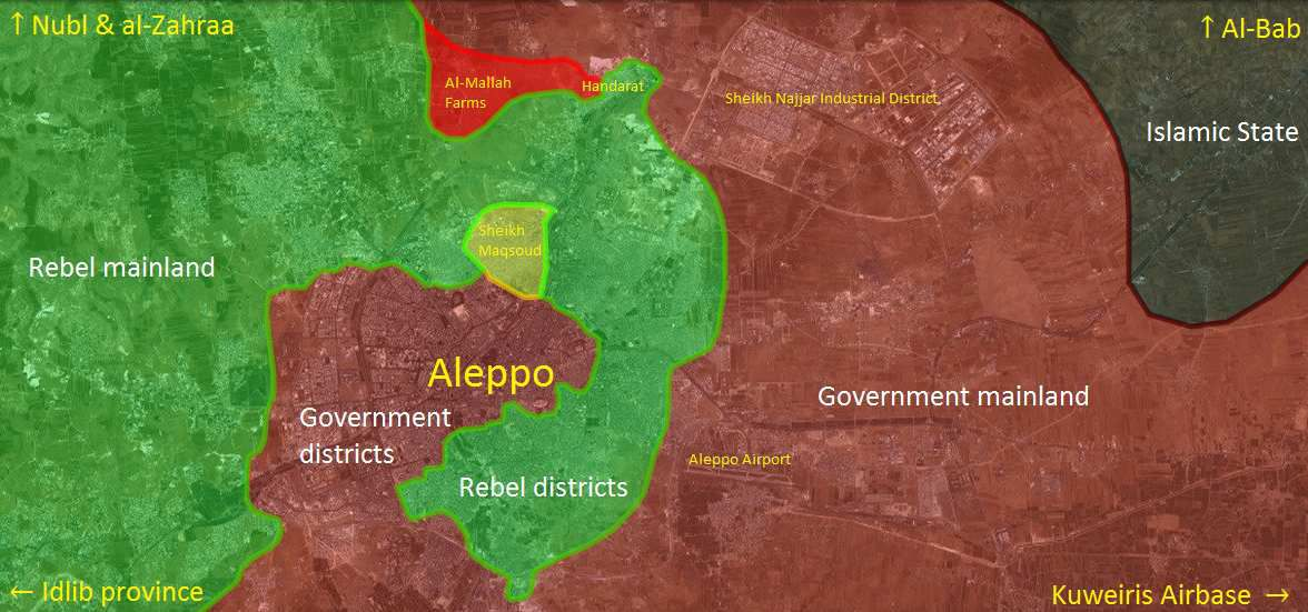 La bataille d'Alep commence, Erdogan se prend une nouvelle baffe
