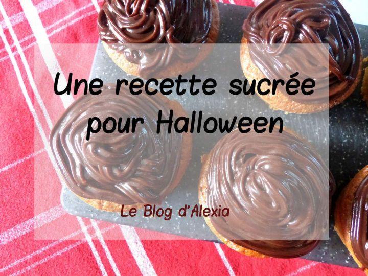 Une recette sucrée pour Halloween : muffin façon carotte cake et son glaçage chocolat noir