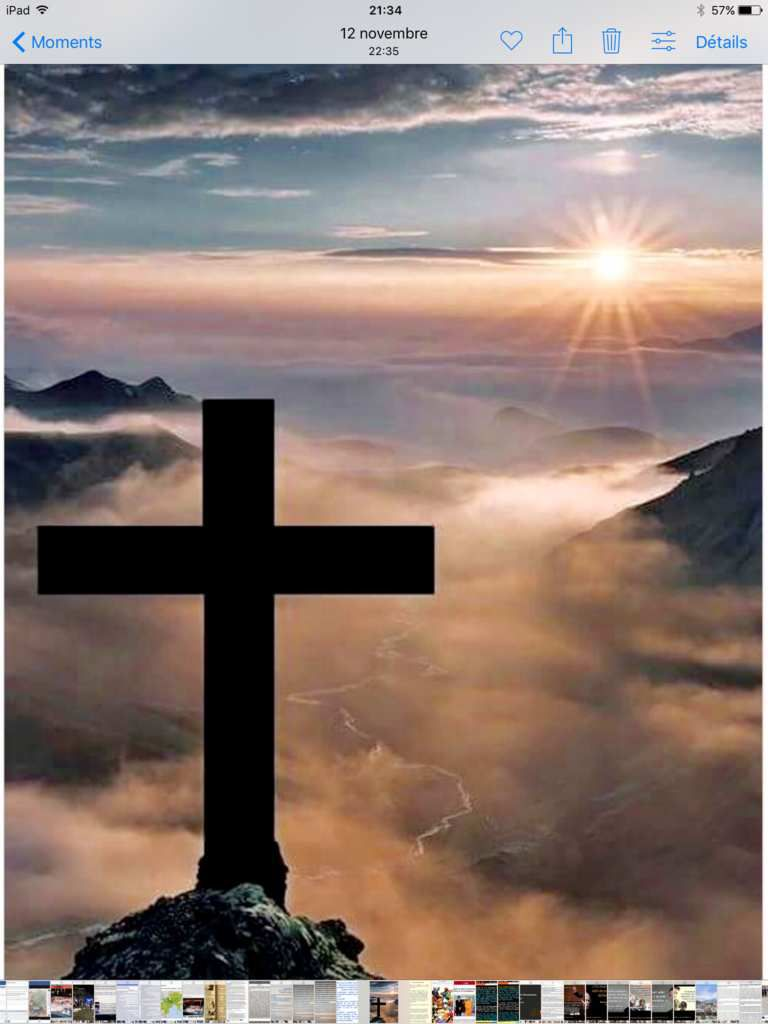 Message d'un illustre inconnu pour certains, d'un Dieu pour nous