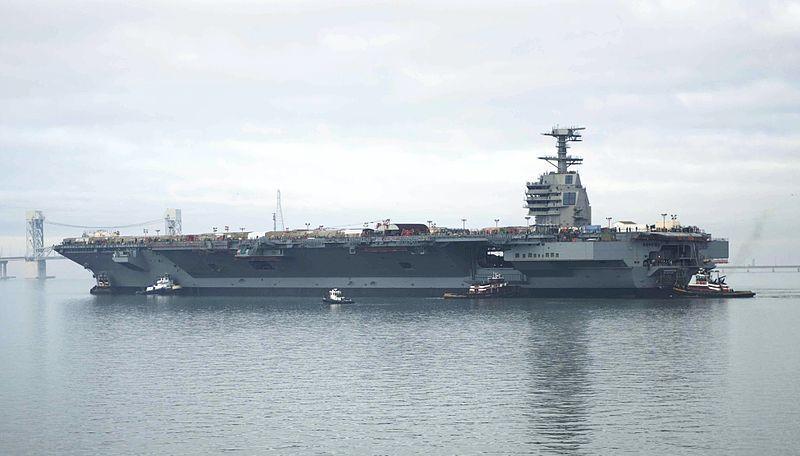 L'USS Gerald Ford, avec ses catapultes électromagnétiques, commence ses essais en mer