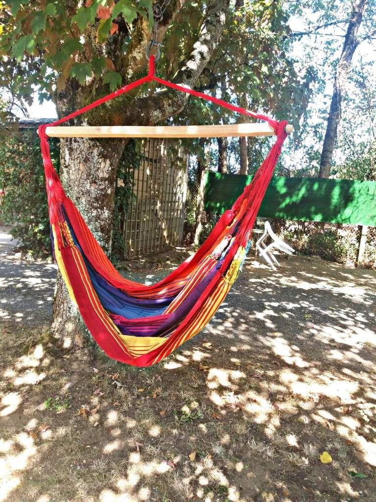 se reposer sous les arbres avec mon