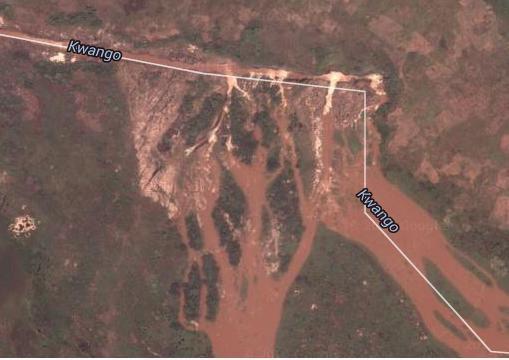Vue satellite et carte