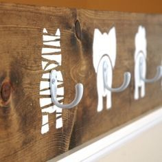 "DIY : Vive les patères ""home made"""