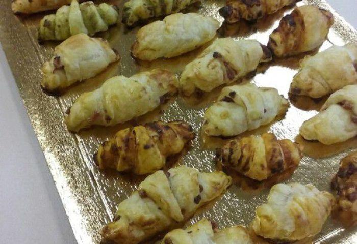 Assortiment De Mini Croissants Salés Chezcachou