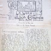 Voix de Gausson : 30 mai 1915 - un combat intéressant! - gausson.histoire.overblog.com