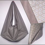 Sac Origami façon Viny DIY - Viny DIY, le blog de tutoriels couture et DIY.