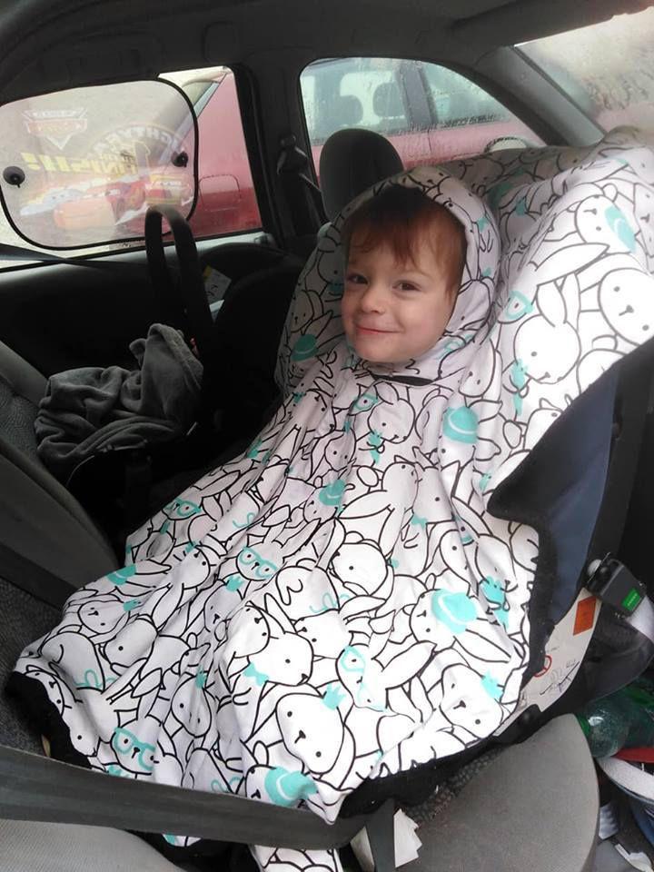pas de manteau dans les sieges auto