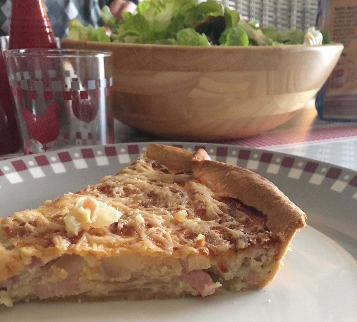 Tarte Bretonne aux oignons de Roscoff
