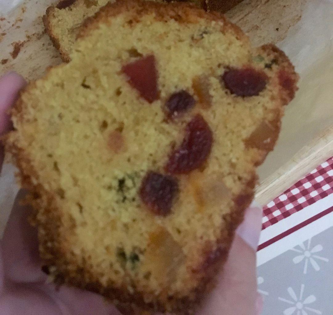Véritable Cake aux fruits