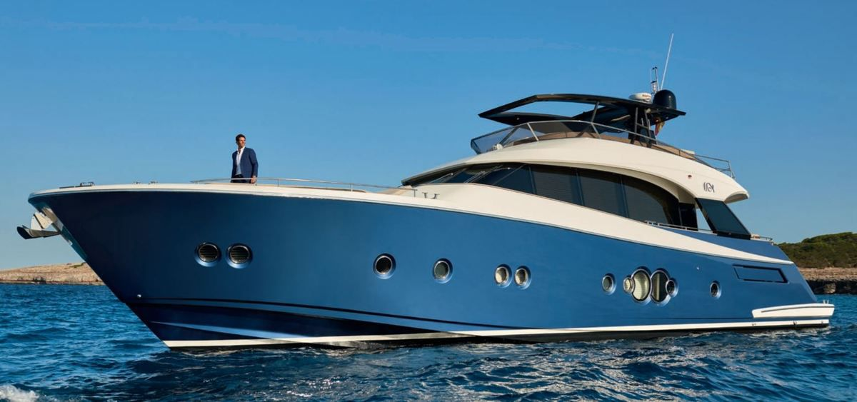Rafael Nadal Chooses The MCY 76 By Monte Carlo Yachts As