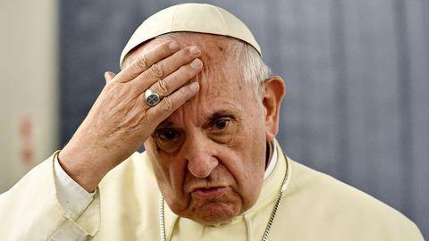 Conditions du salut, péché, actes sexuels...Tous les propos du pape sur certains sujets sensibles ont été épluchés par ce colloque d'universitaires et de théologiens... (photo : AFP/Vincenzo PINTO