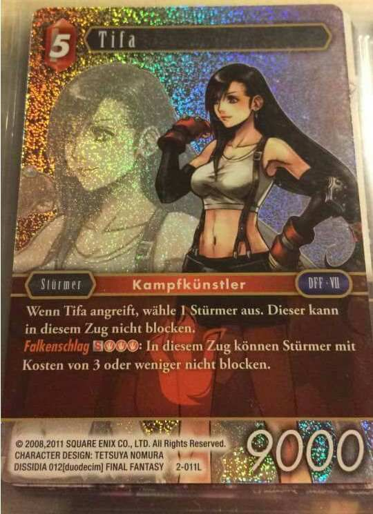 Forums Forums Final Fantasy Trading Card Game France