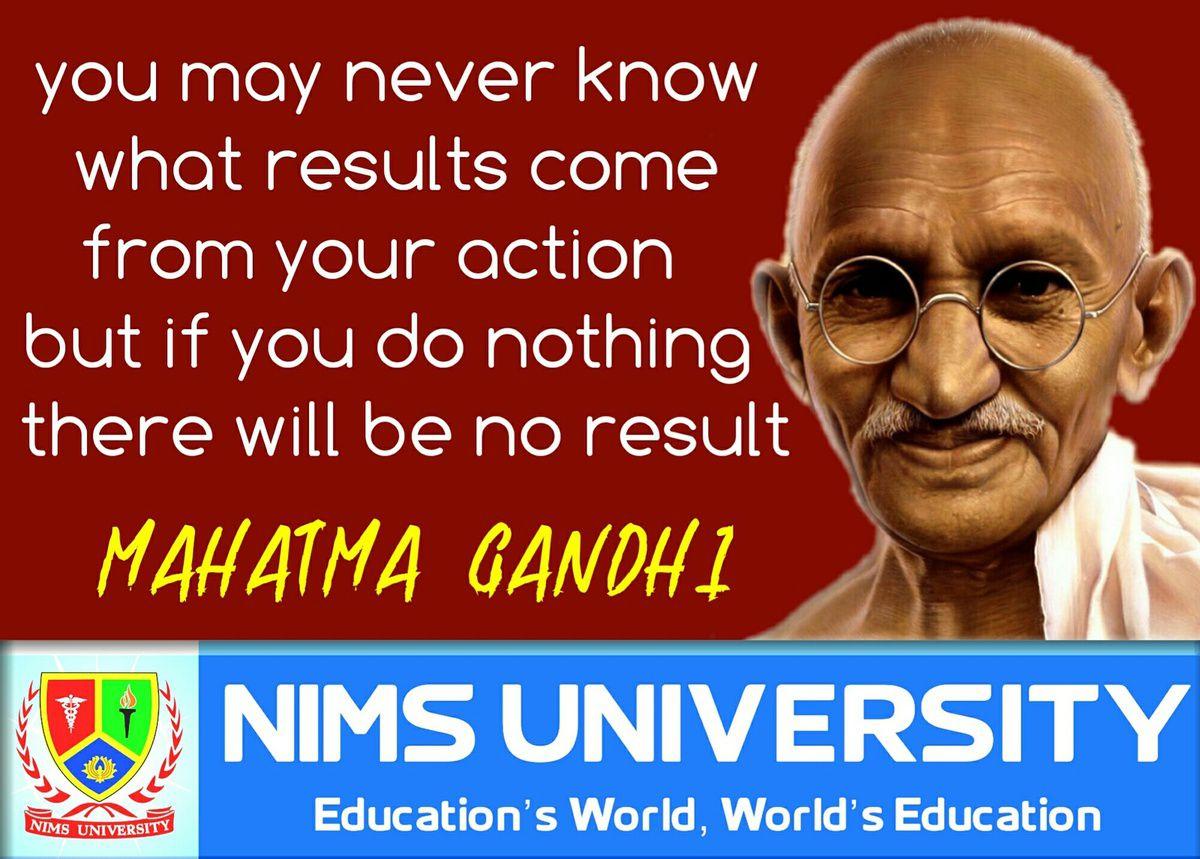 Education Positive Gandhi Quotes