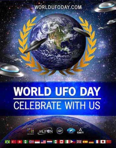 2 juillet 2018 : journée mondiale des OVNI