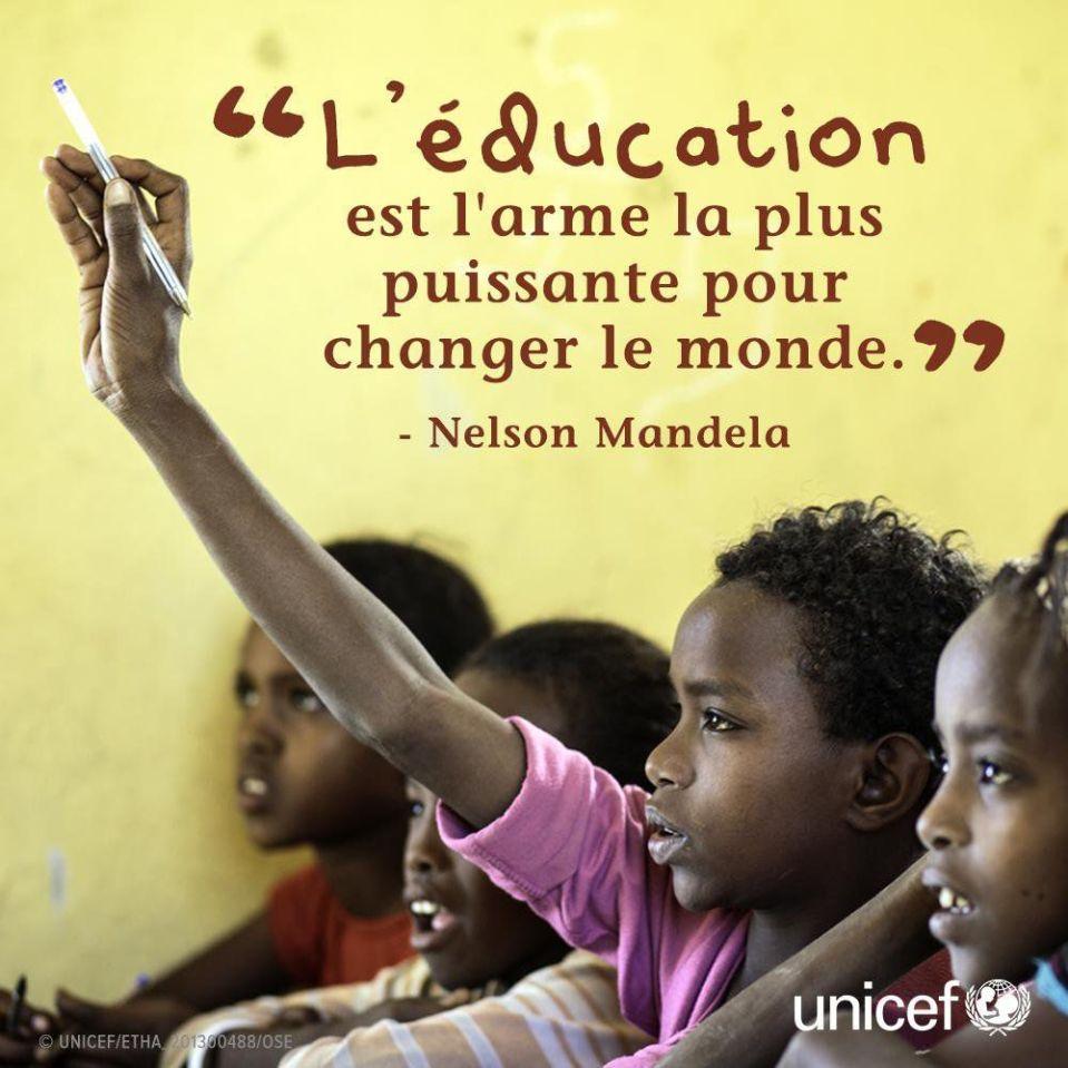 7 août 2018 : journée internationale de l'éducation