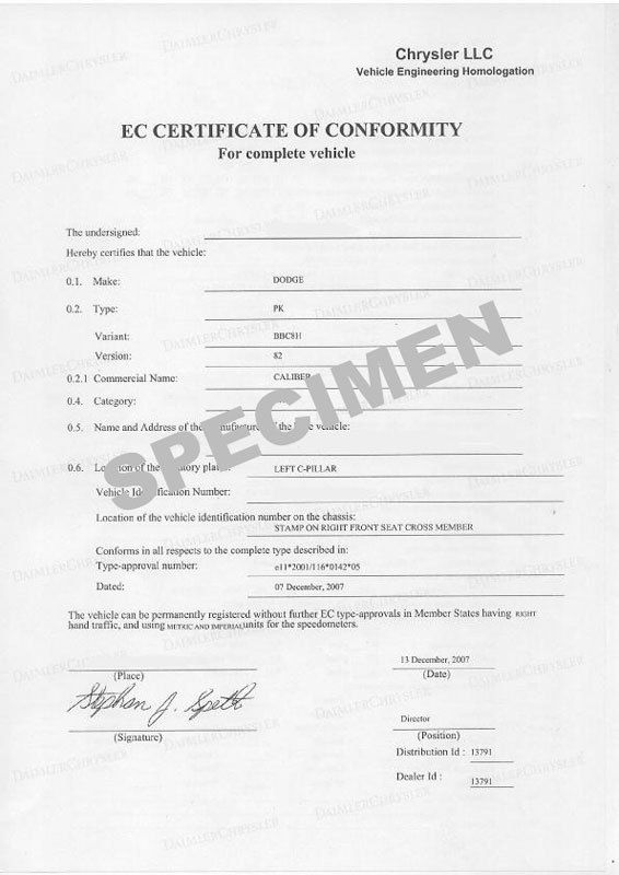A quoi sert un certificat de conformité