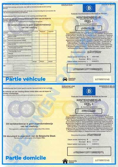 Comment immatriculer une voiture française en Belgique