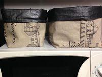 Tuto panière vide poche - Couture DIY
